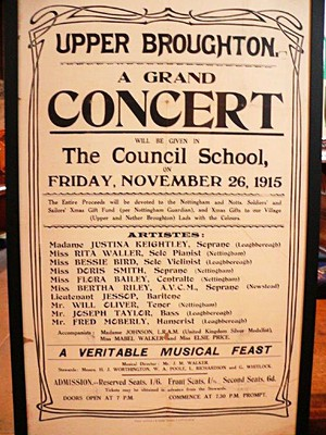 Concert poster 1915