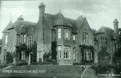 The rectory in Upper Broughton in early C20th
